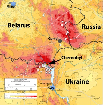 Introduction Chernobyl Map on